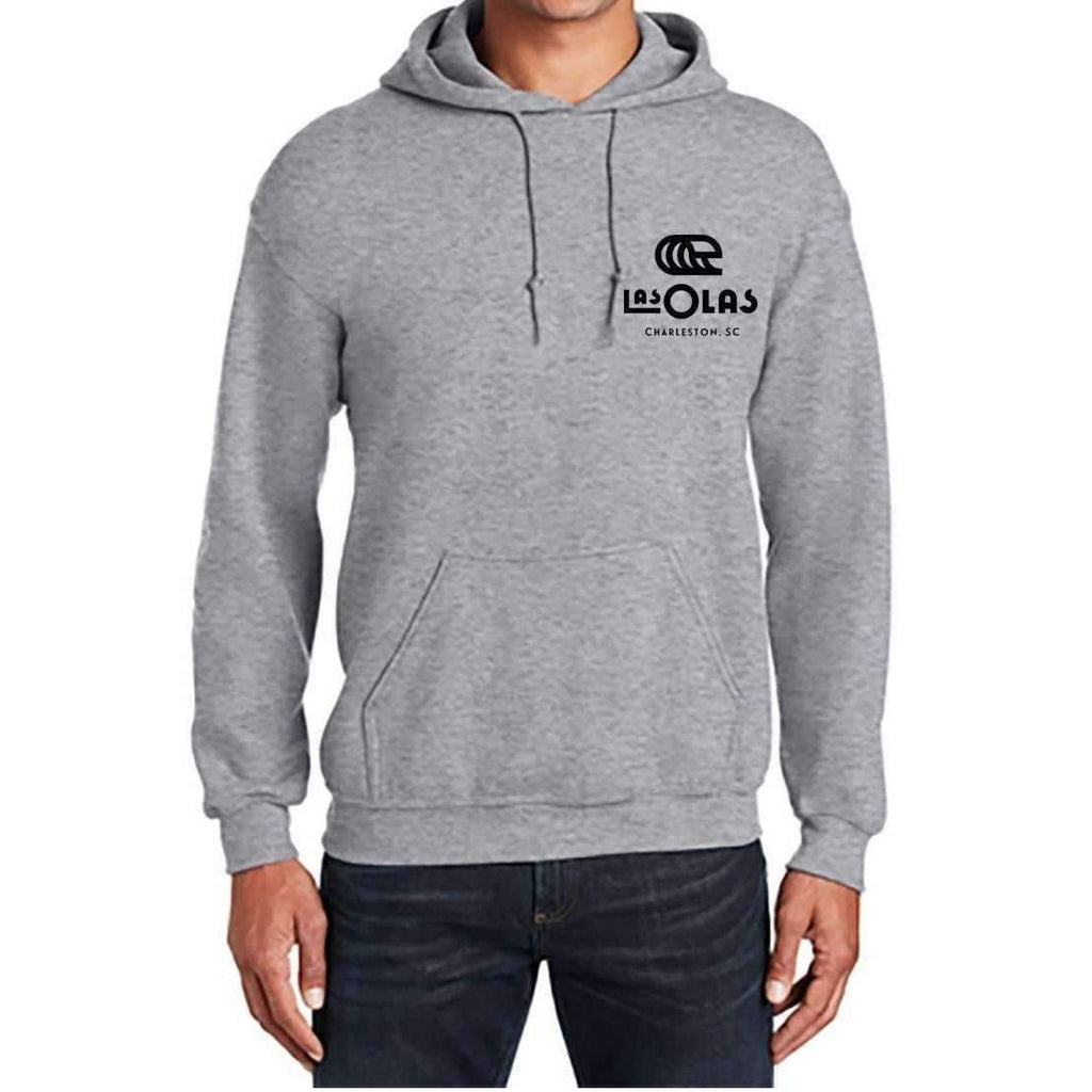 LAS OLAS // CHARLESTON HOODIE // HEATHER GREY - Las Olas
