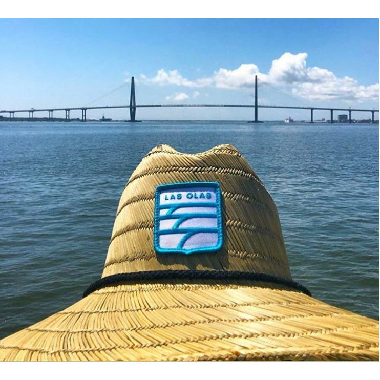 LAS OLAS FARMERS HAT // WAVE PATCH LOGO - Las Olas
