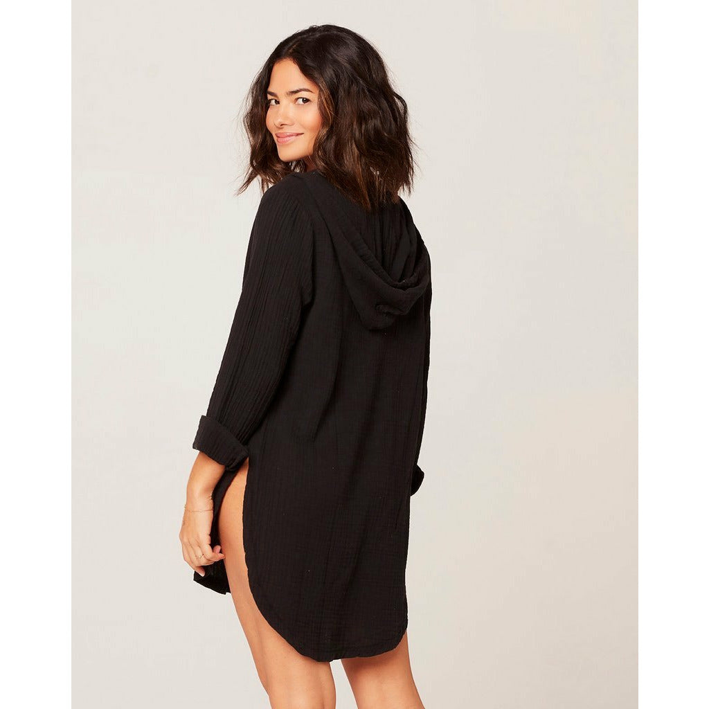 L*SPACE // CASWELL COVER UP // BLACK - Las Olas