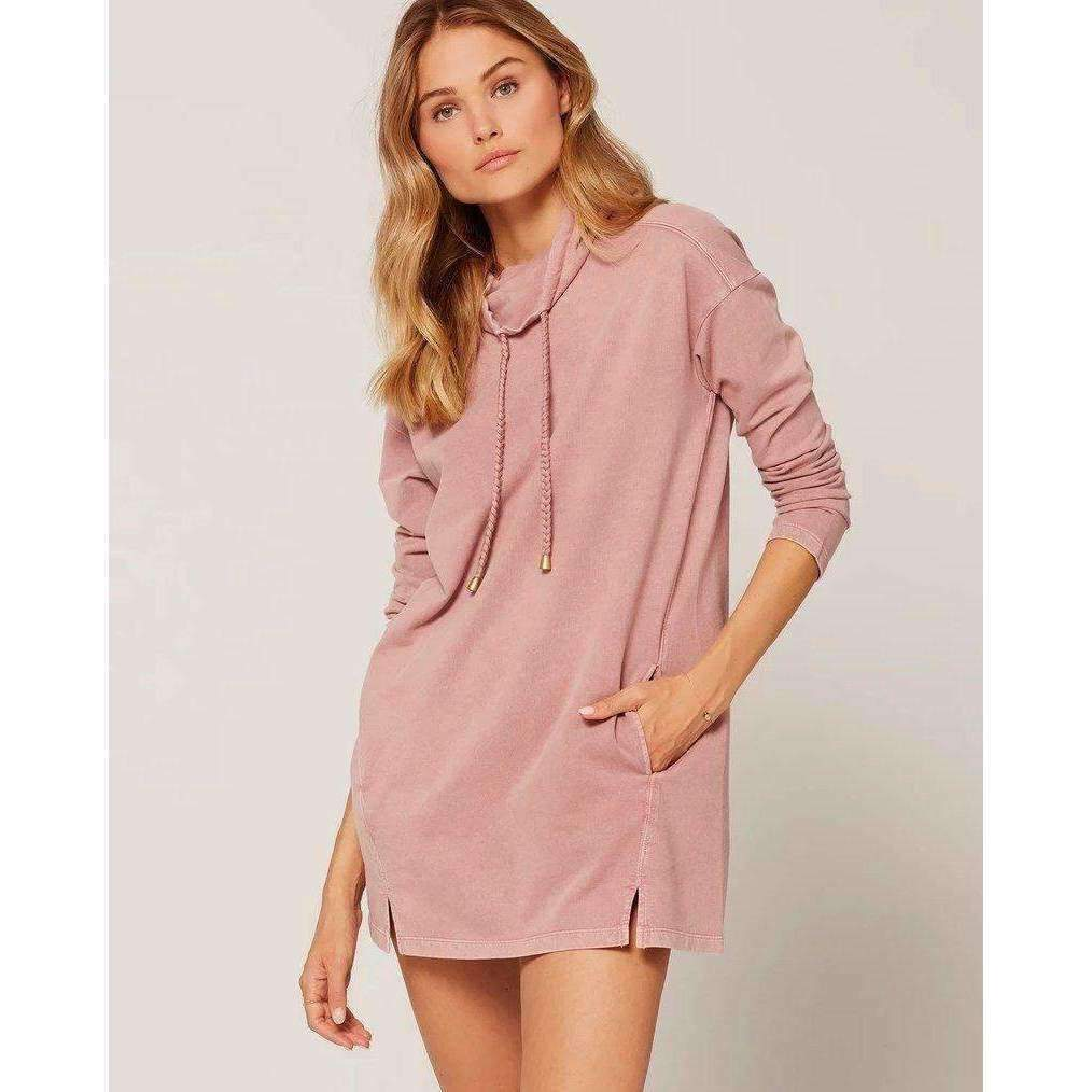 L*SPACE // DAPHNE DRESS // DUSTY ROSE - Las Olas