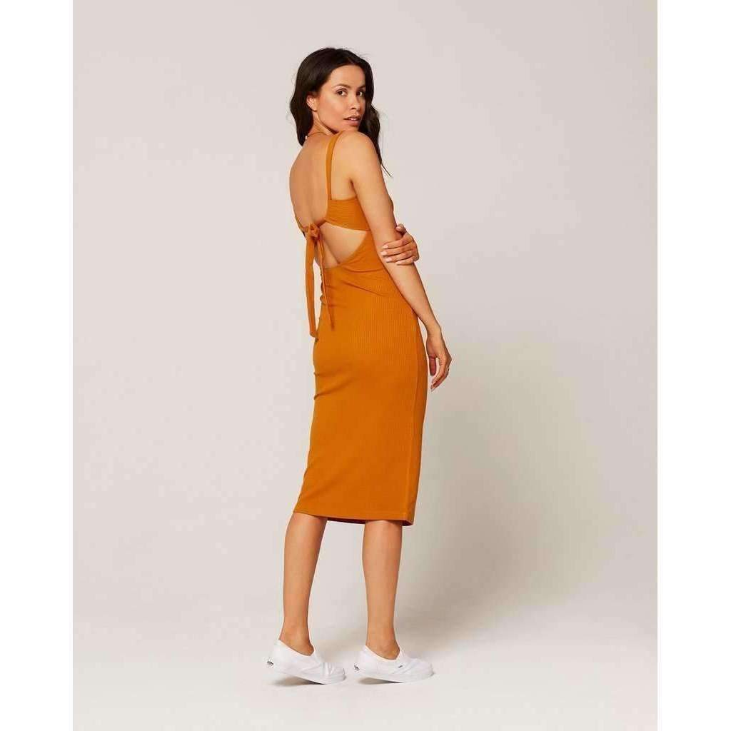 L*SPACE // KAIA DRESS // HAZELNUT - Las Olas