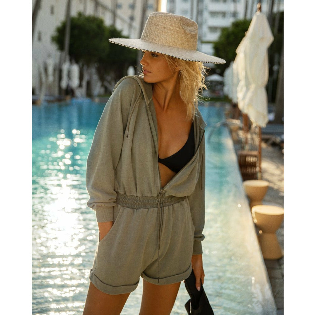 L*SPACE // STAY COOL ROMPER // WASHED ARMY - Las Olas