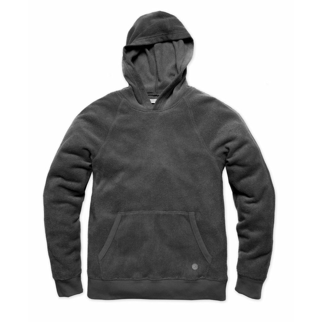 OUTERKNOWN // HIGHTIDE PULLOVER HOODIE // PITCH BLACK - Las Olas