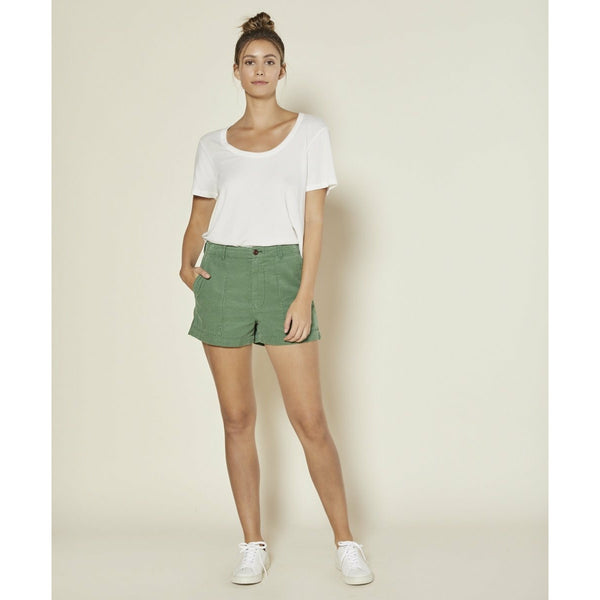 OUTERKNOWN // SEVENTYSEVEN CORD SHORTS // GREEN GLASS - Las Olas