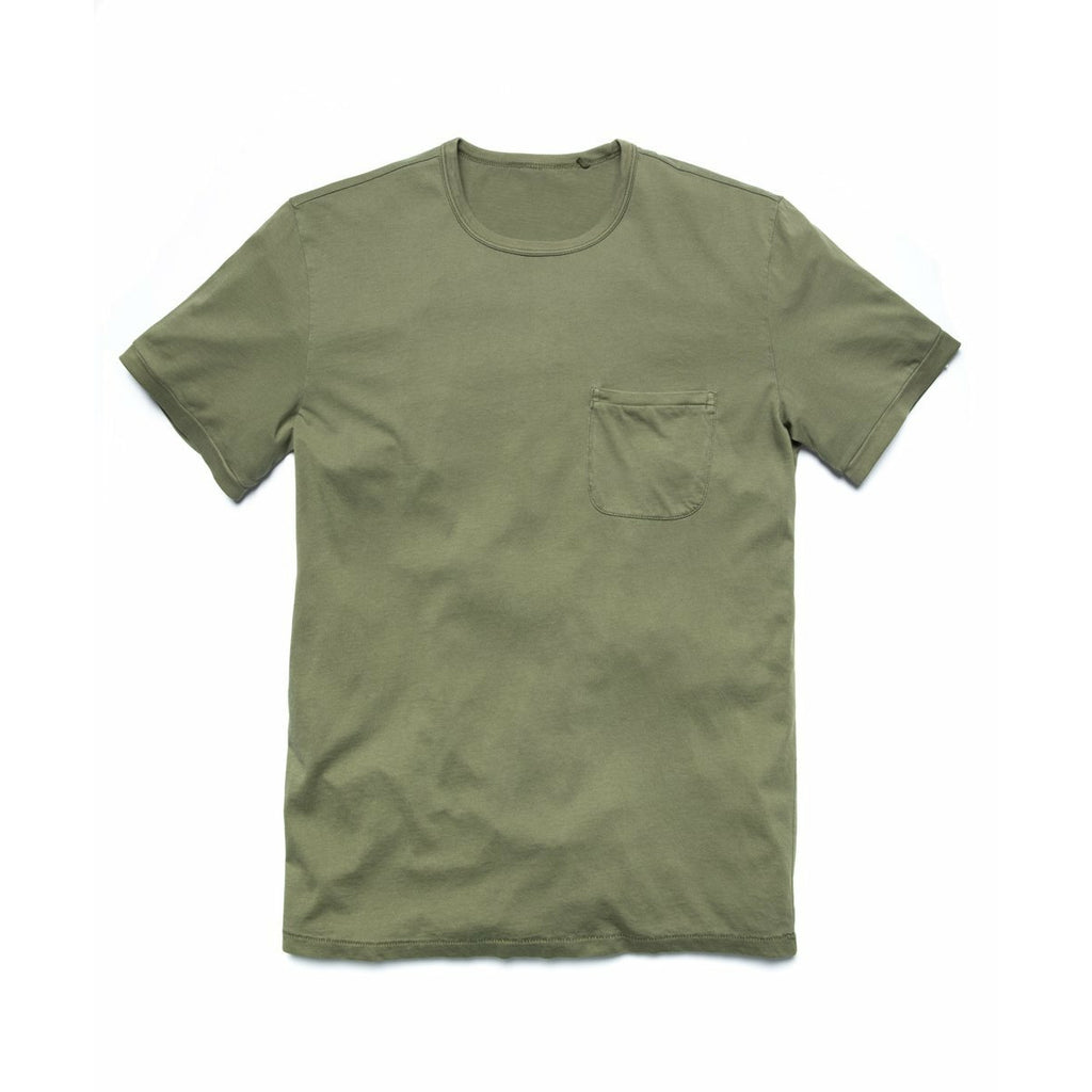 OUTERKNOWN // SOJOURN POCKET TEE // OLIVE - Las Olas