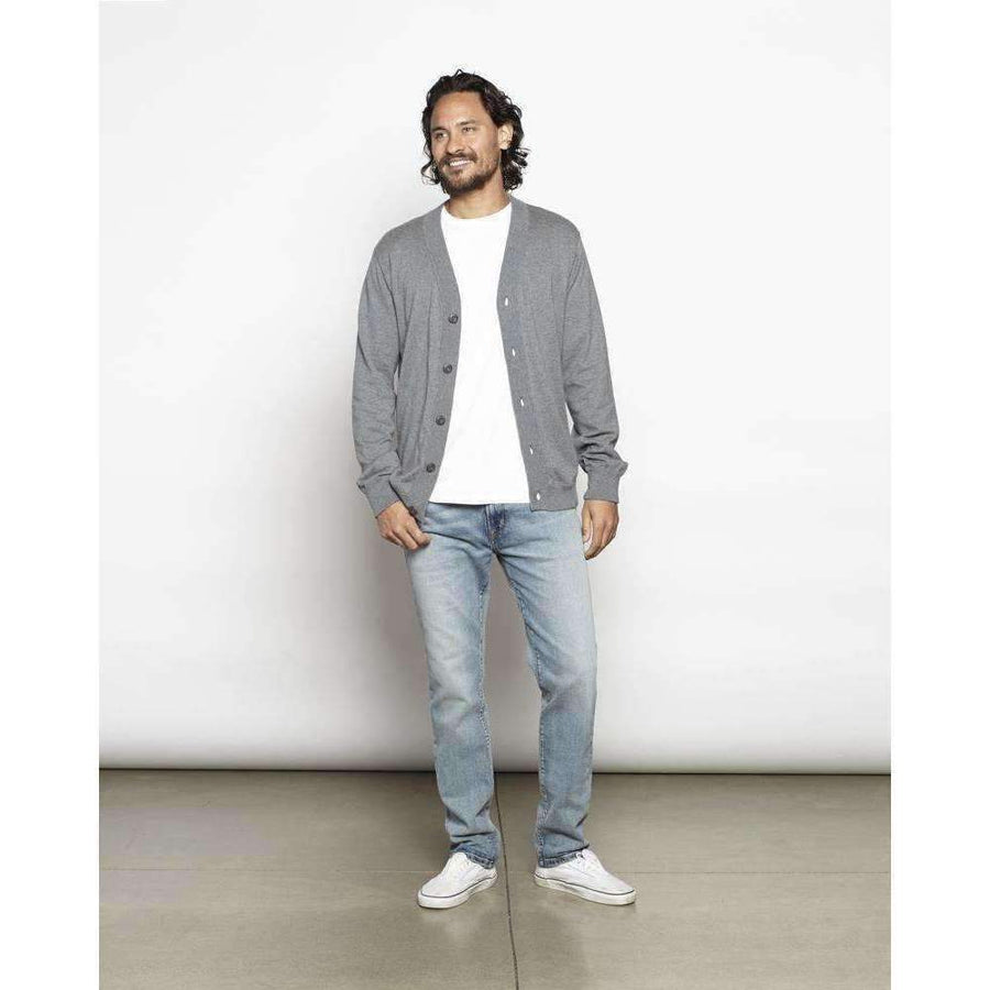 OUTERKNOWN // T-SHIRT CARDIGAN // HEATHER GREY - Las Olas