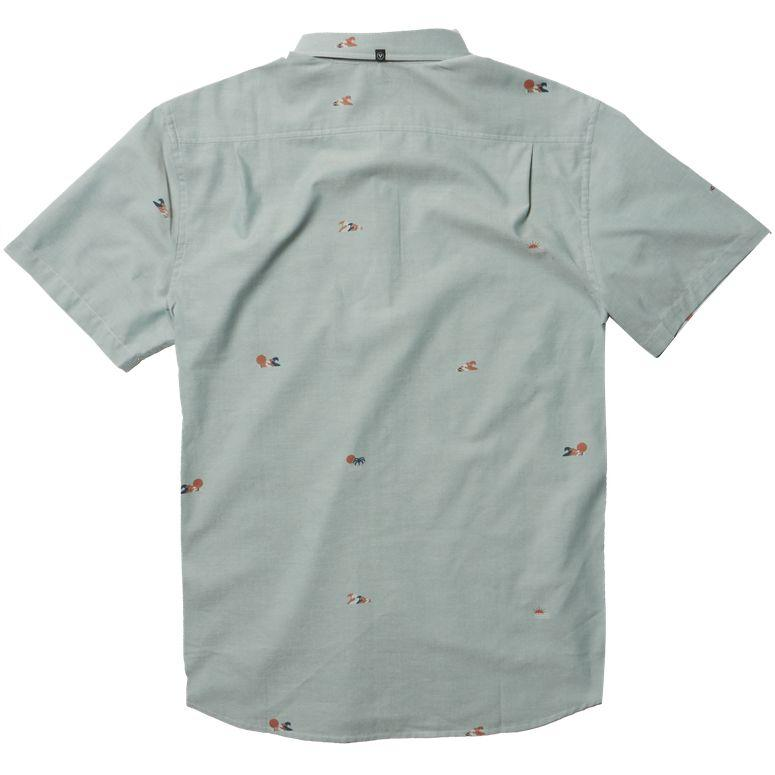 VISSLA // STACKED SS ECO SHIRT // SMOKEY JADE - Las Olas