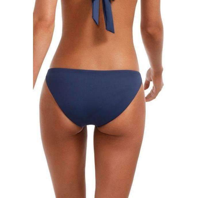 VITAMIN A // LUCIANA FULL COVERAGE BOTTOM // DEEP BLUE - Las Olas