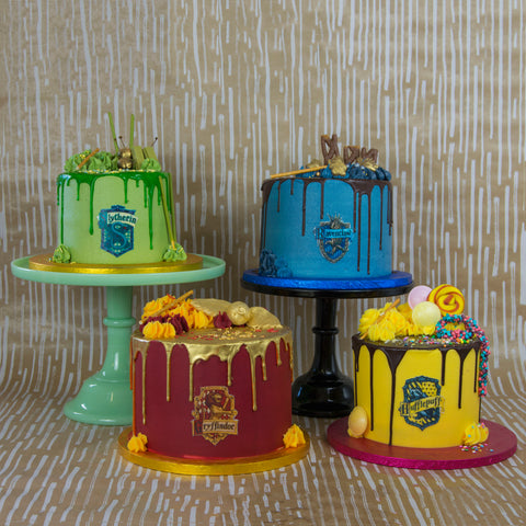 Harry Potter Cakes Cat Food Cakes