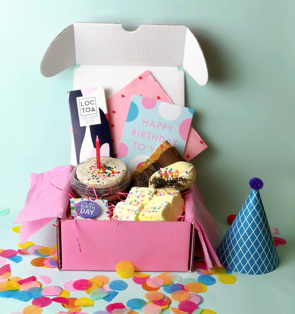 New! Cookies & Cream Birthday Gift Box