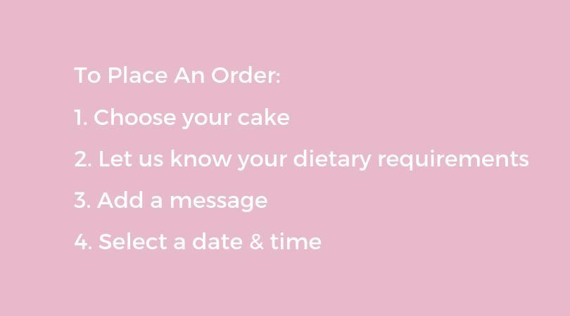 how to order a cake