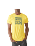 C. Woodson Legends T-Shirt - Michigan Maize
