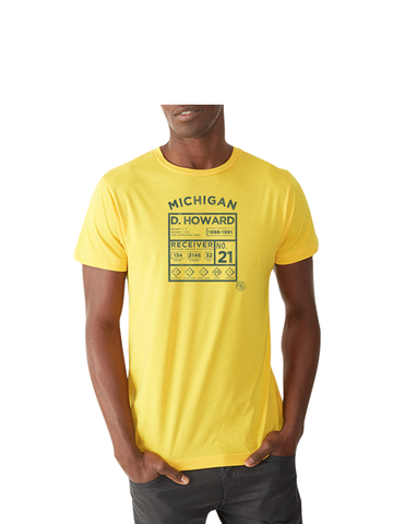 D. Howard Legends T-Shirt - Michigan Maize