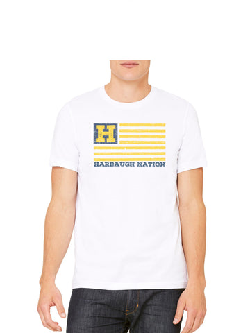 Harbaugh Nation Michigan T-Shirt