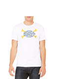 Michigan Football Crossbones T-Shirt White