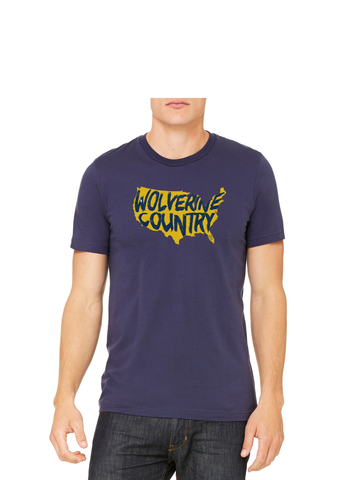Wolverine Country T-Shirt - Michigan Blue