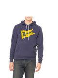 Vintage Michigan Pennant Hoodie - Michigan Blue