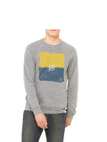 Maize and Blue Sweatshirt - Grey