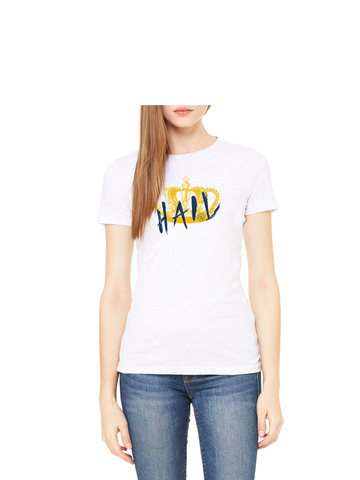 Hail Crown T-Shirt - Crisp White