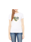 Maize Loves Blue T-Shirt - Crisp White