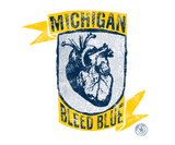 Bleed Blue Badge