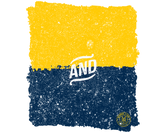 Maize and Blue Badge
