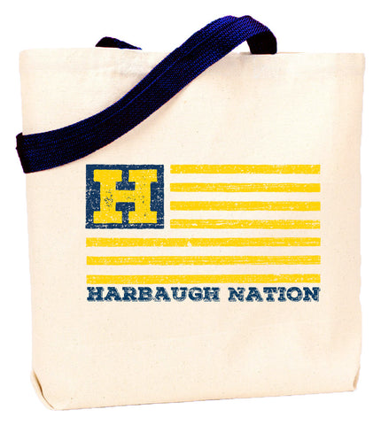 Harbaugh Nation Tote