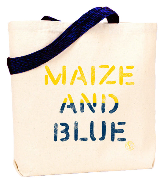 Maize and Blue Tote