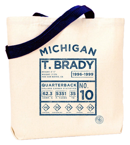 T. Brady Legends Tote