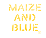 Vintage Maize and Blue Badge - All Maize