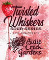 A- Twisted Whiskers Strawberry Rhubarb
