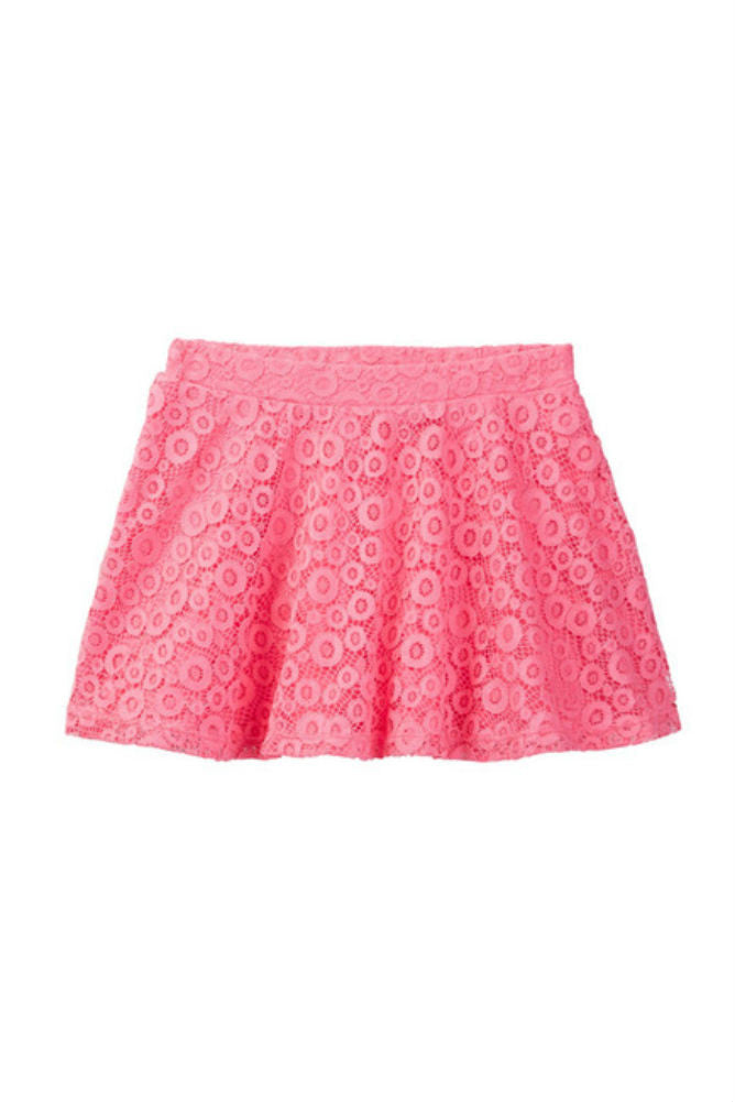 Harper Canyon- Breezy Lace Skirt