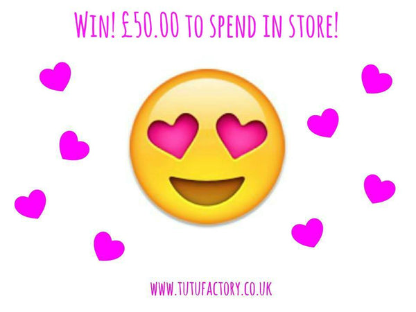 win £50 to spend at the Tutu Factory