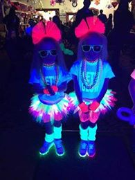 girls tutus with lights