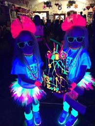 glow birthday party ideas