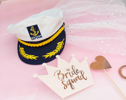 bride to be sailor veils