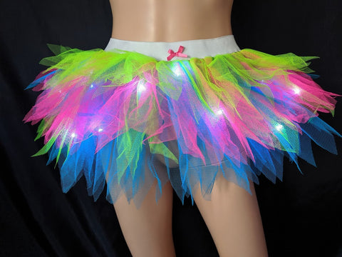 light up girls tutus neon tutus with lights birthday tutu