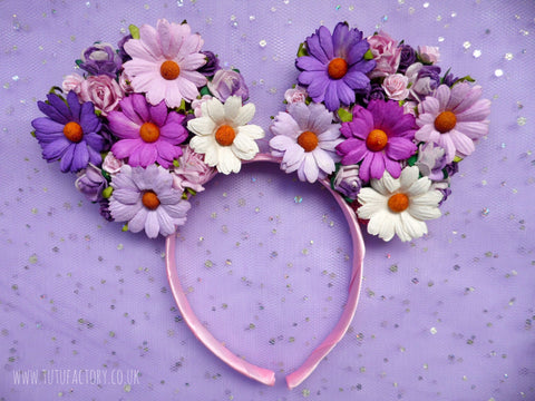 Rapunzel inspired Minnie Ears