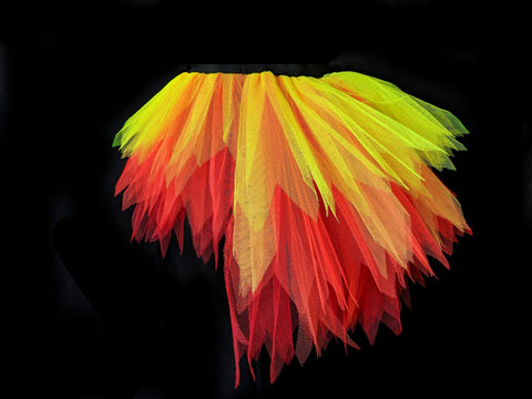 fire tutu high and low tutus by the tutu factory