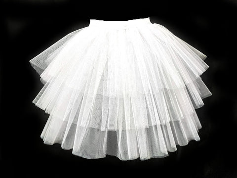 white rara fashion tutu carrie tutu bridal