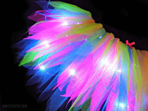 neon light up tutus neon raver tutu factory