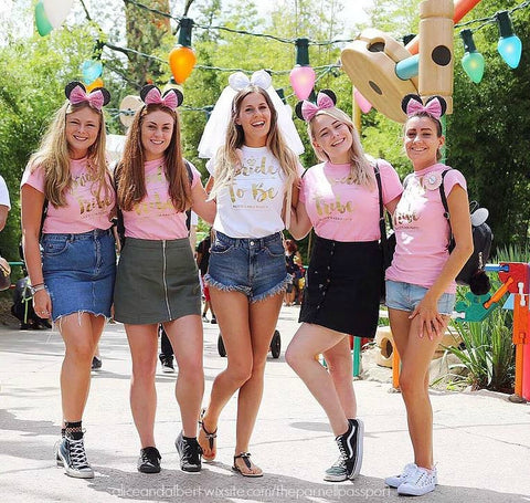 disneyland paris hen weekend outfit and accessory ideas