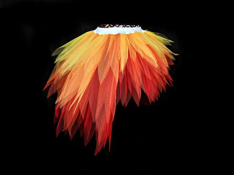 fire halloween tutu high and low tutus