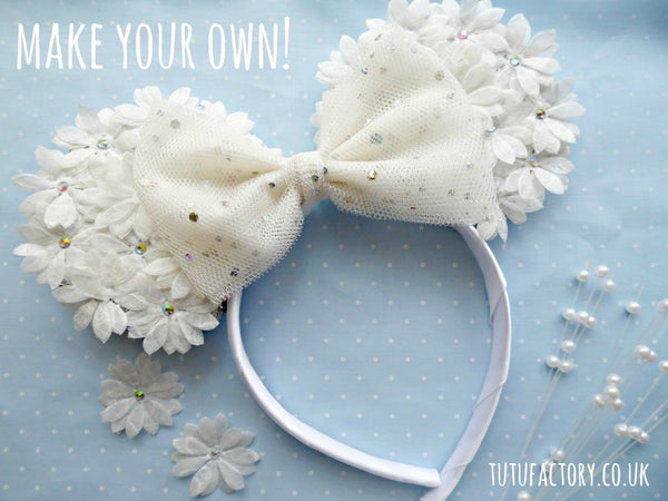Minnie Mouse Floral Headband Tutorial