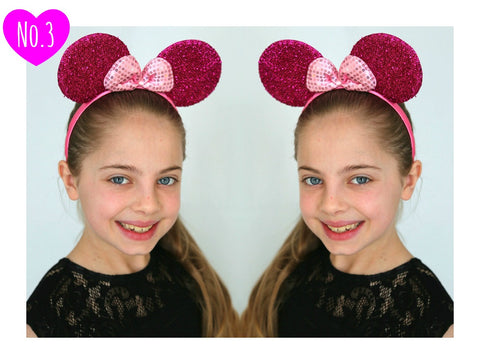 Girls Minnie Mouse Ears