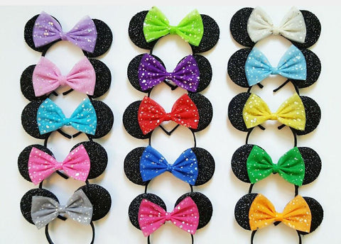 Minnie Mouse Ears Any Colour Bow