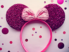 Pink Minnie Mouse Ears SALE