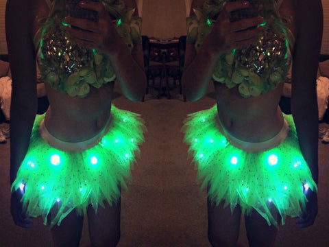 Light Up Tinkerbell Tutu Disney Run Costume Disneybound