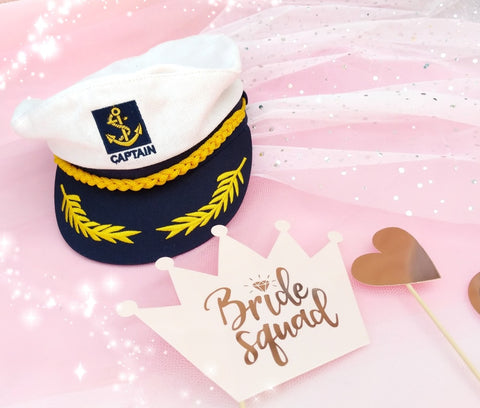 sailor bride to be nautical hen weekend beach party cruise party