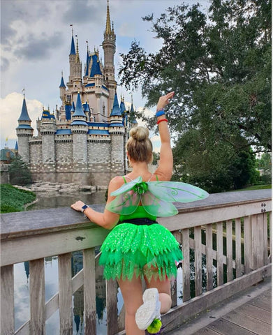adult tinkerbell tutu disney fun run tutus